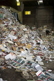 Paper scrap yard Royalty Free Stock Photography