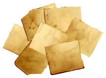 Paper Scraps Stock Photos