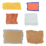 Paper Scraps Royalty Free Stock Image