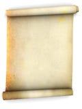 paper scroll Fotografering för Bildbyråer