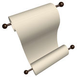 Paper Scroll Stock Photography