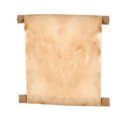 Paper scroll royalty free stock image