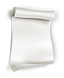Paper scroll Royalty Free Stock Images