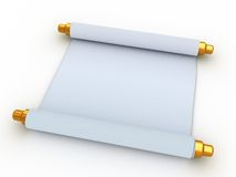 Paper scroll Stock Image