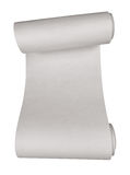Paper scroll isolated Stock Photography