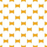 Paper scroll pattern, cartoon style Royalty Free Stock Photo