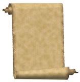 paper scroll vintage 免版税库存照片