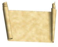 paper scrolltappning Royaltyfri Bild