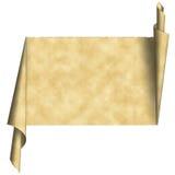 paper scrolltappning Royaltyfri Fotografi