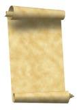 paper scrolltappning Arkivfoto