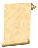 paper scrolltappning Arkivbild