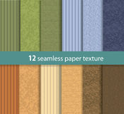 Paper seamless vector texture Stock Images