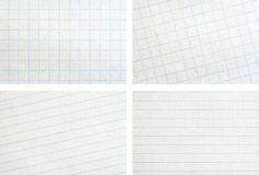 Paper set Stock Image