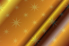 Paper with a sheen. Gold paper with a sheen on its surface Royalty Free Stock Photo