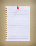 Paper sheet Royalty Free Stock Image