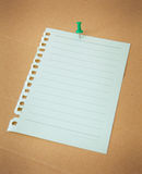 Paper sheet Royalty Free Stock Photography