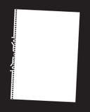 Paper sheet Royalty Free Stock Photos