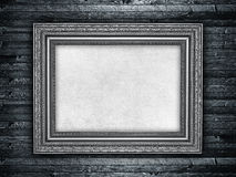 Paper sheet in picture frame Stock Images