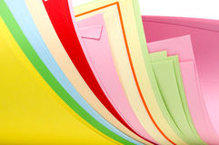 Paper sheets Stock Photos