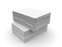 Paper sheets Stock Image