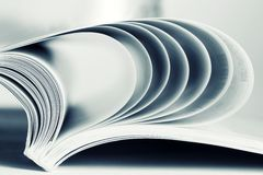 Paper sheets Royalty Free Stock Image