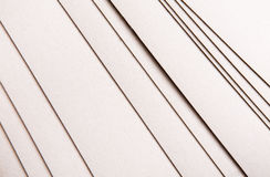Paper sheets stack close up, abstract background Stock Images