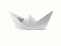 The paper ship Stock Photography