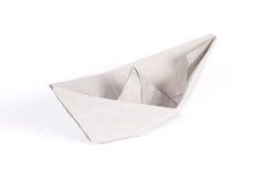 paper ship royaltyfria bilder