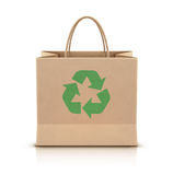 Paper shopping bag Stock Image