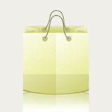 Paper shopping bag Stock Photo