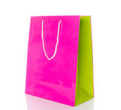 Paper shopping bag Royalty Free Stock Photos
