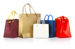 Paper shopping bags Royalty Free Stock Photography