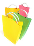 Paper bags - Colored Royalty Free Stock Photo