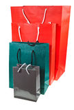 Paper shopping bags Royalty Free Stock Photo