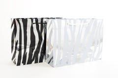 Paper shopping bags stock photos
