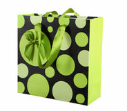 Paper shopping bags on a white background. Royalty Free Stock Image