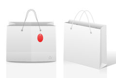 Paper shopping bags Royalty Free Stock Photos