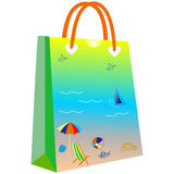 Paper shopping bags for your design Royalty Free Stock Photography