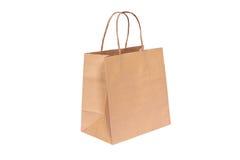 paper shopping för påse Arkivfoto
