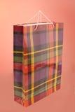 Paper shoppingpåse Fotografering för Bildbyråer