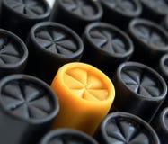 Paper shotgun cartridges Stock Photography