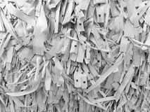 Paper shredded recycle background. Paper industrial shredded recycle background Royalty Free Stock Images