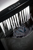 Paper shredder Stock Photo