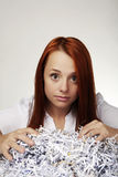 Paper shredder Royalty Free Stock Photography