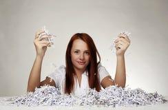 Paper shredder Stock Images