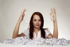 Paper shredder Stock Image