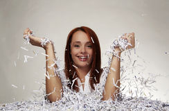 Paper shredder Royalty Free Stock Photos
