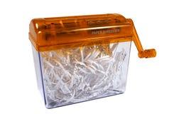 Paper shredder. Isolated Stock Photos