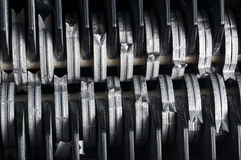 Free Paper Shredder Blades Stock Photo - 38609980