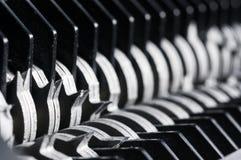 Paper shredder blades Stock Images